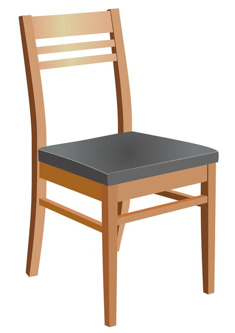 Wood Chair Vector Free Download