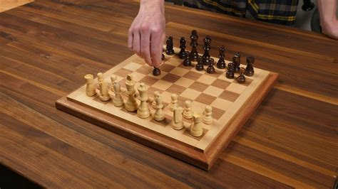 Wood Chess Board Projects You Tube