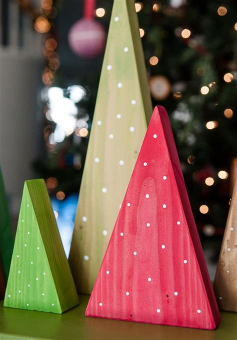 Wood Christmas Decorations Diy Pinterest