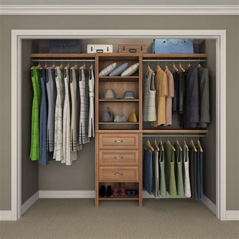 Wood Closet Systems Images