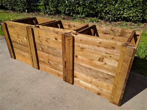 Wood Compost Bins Plansource
