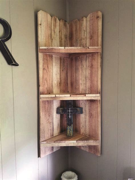 Wood Corner Shelf Plans