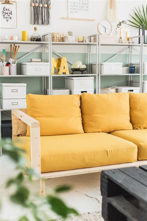 Wood Couch Diy
