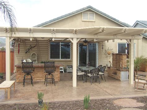 Wood Covered Patio Plans