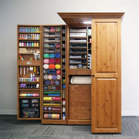 Wood Craft Space Storage Cabinet Plans