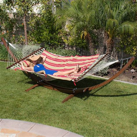 Wood Curved Curved Arc Hammock Stand Plans