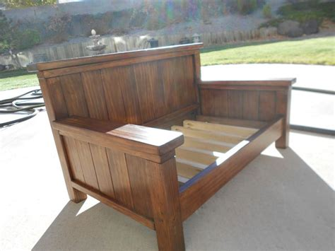 Wood Daybed Plans With Storage