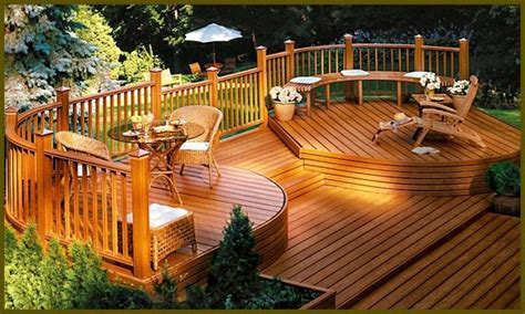 Wood Deck Designs And Plans