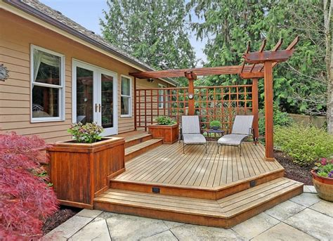 Wood Deck Plans And Designs