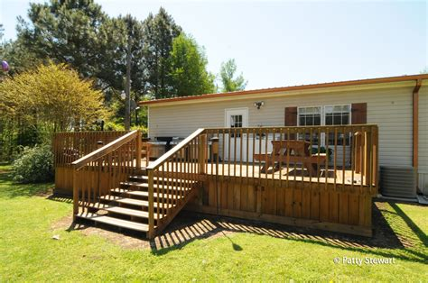 Wood Deck Plans For Mobile Home