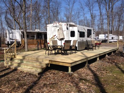 Wood Deck Plans For Travel Trailers