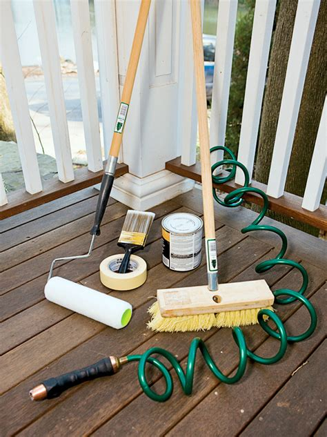 Wood Deck Restoration Diy Network