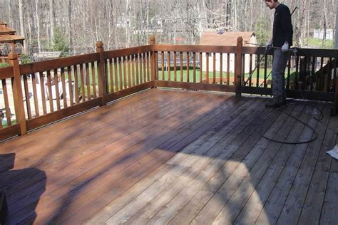 Wood Deck Restoration In Springfield