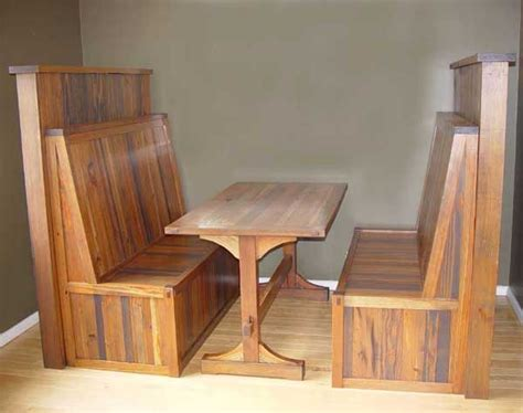 Wood Dining Booth Plans