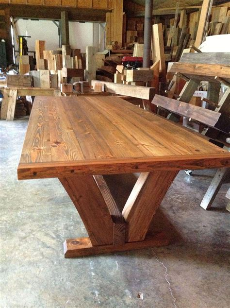 Wood Dining Table Bench Plans