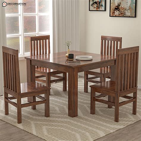 Wood Dining Table Dimensions