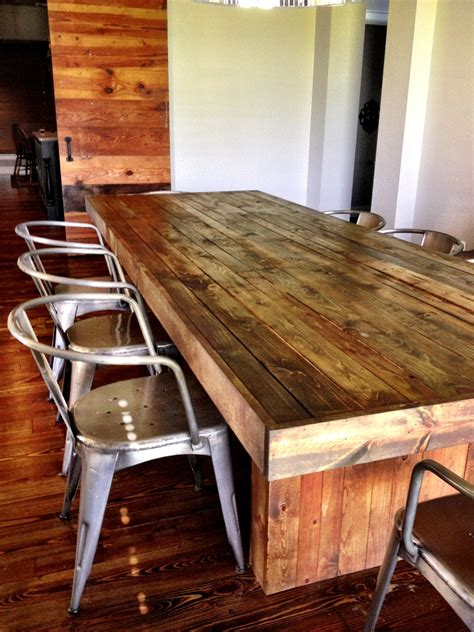 Wood Dining Table Pinterest Diy Gifts