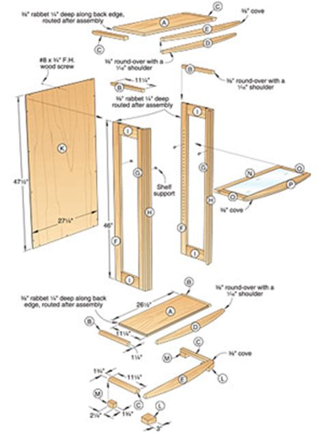 Wood Display Box Plans