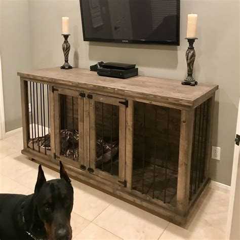 Wood Dog Crate Furniture Plans