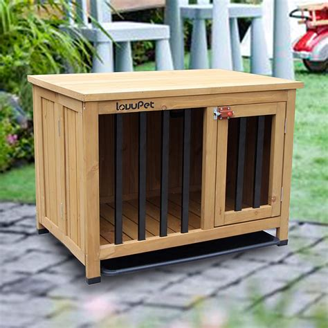Wood Dog Crate Plans