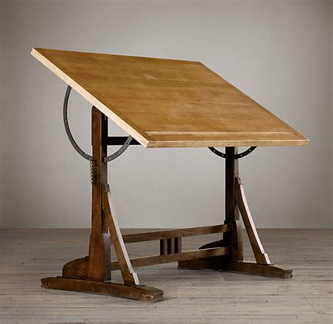 Wood Drafting Table Plans