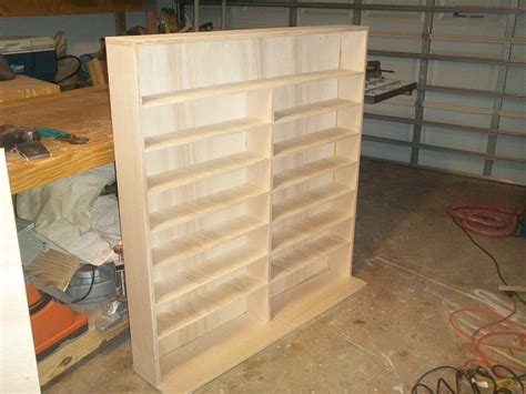 Wood Dvd Rack Plans