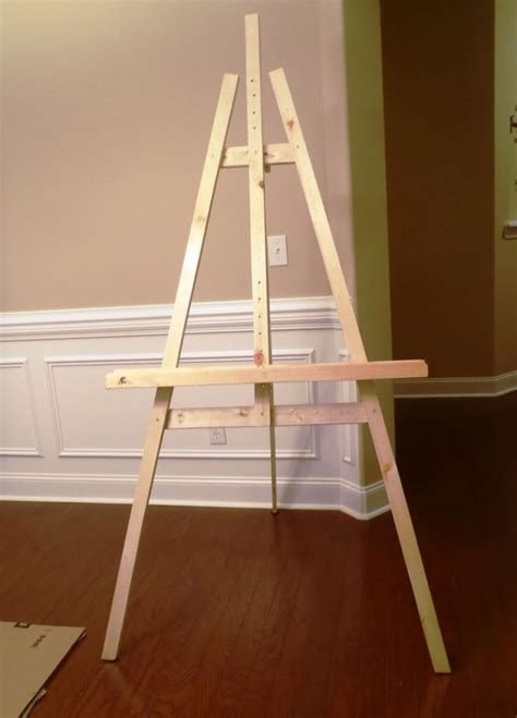 Wood Easel Construction