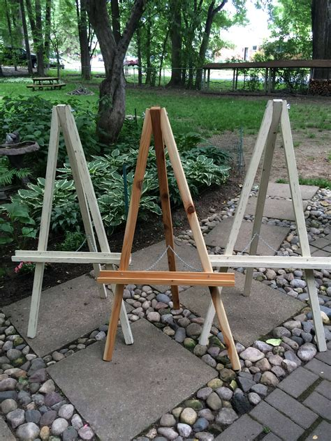 Wood Easel Diy