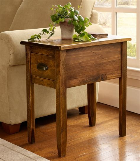 Wood End Tables Living Room