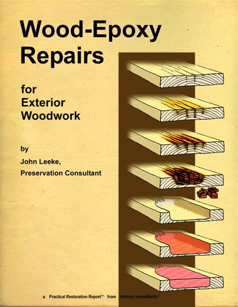 Wood Epoxy Repairs For Exterior Woodworks
