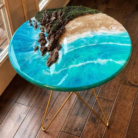 Wood Epoxy Resin Table Diy