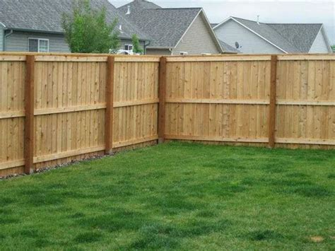 Wood Fence Construction Methods