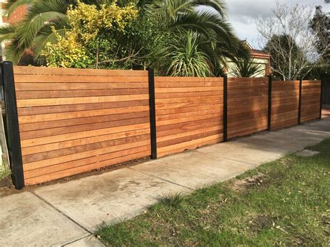 Wood Fence Designs With Metal
