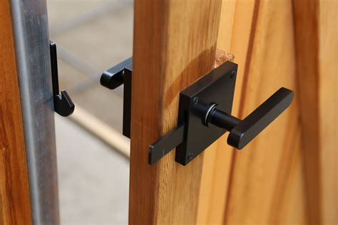 Wood Fence Gate Hardware Locks