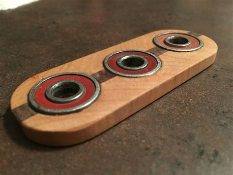 Wood Fidget Spinner Diy Projects