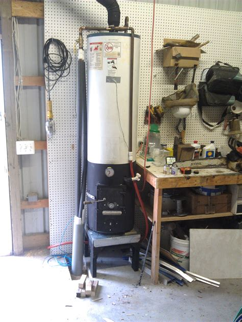 Wood Fired Hot Water Heater Plans
