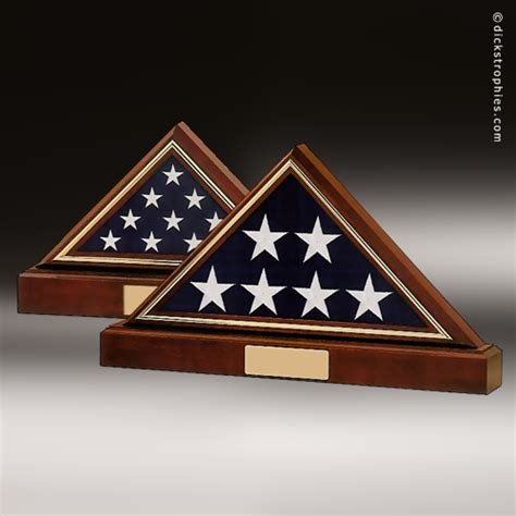 Wood Flag Display Case Made In Usa