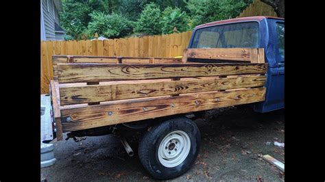 Wood Flatbed Plans Youtube Broadcast