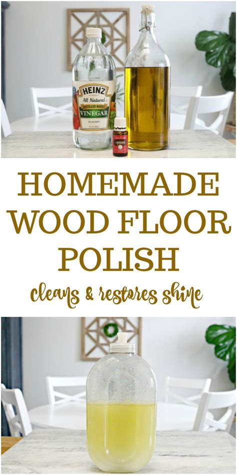 Wood Floor Shine Homemade