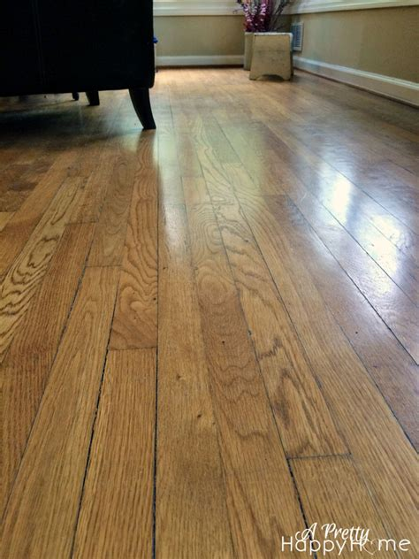 Wood Floor Shine Without Buildup