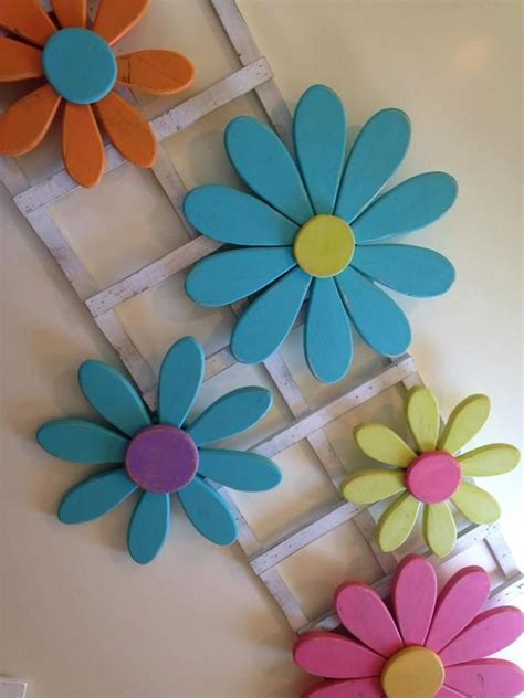 Wood Flowers Crafts