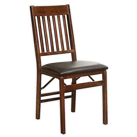Wood Folding Chairs Bed Bath Beyond