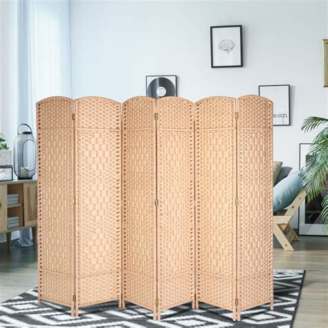 Wood Folding Screen Room Divider