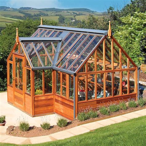 Wood Frame Diy Greenhouse Construction