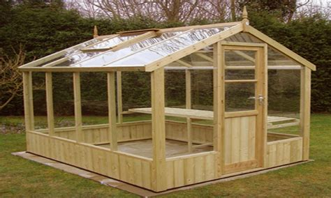 Wood Frame Greenhouse Plans For Sale