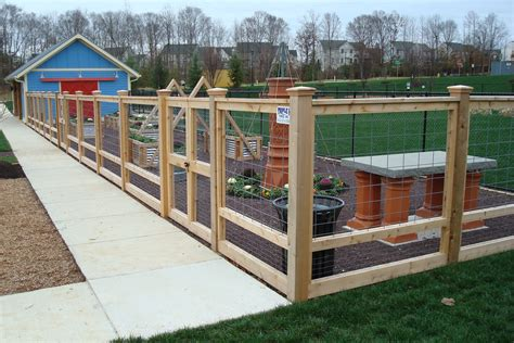 Wood Frame Wire Fence Diy Plans