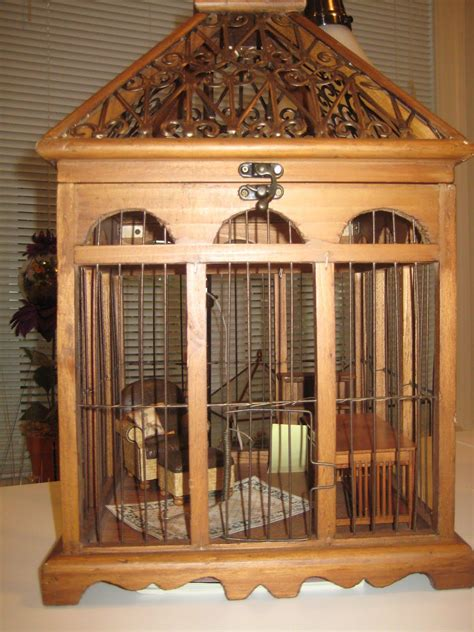 Wood Furniture Parrot Cages Plans