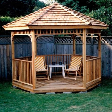 Wood Gazebo Plans 600 Sq Feet