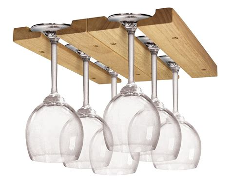 Wood Hanging Wooden Wine Glass Rack Plans