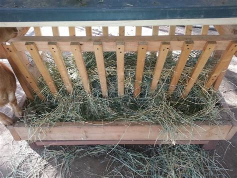 Wood Hay Rack Plans